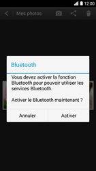 Bouygues Telecom Ultym 5 - Photos, vidéos, musique - Envoyer une photo via Bluetooth - Étape 8
