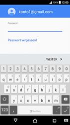 Sony Xperia X Performance - E-Mail - Konto einrichten (gmail) - 0 / 0