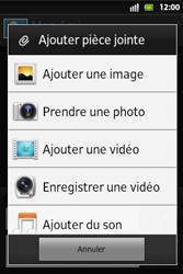 Sony ST27i Xperia Go - MMS - envoi d'images - Étape 12
