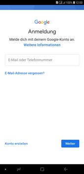 Samsung Galaxy J4+ - Apps - Konto anlegen und einrichten - Schritt 5