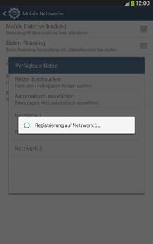 Samsung Galaxy Tab 3 8-0 LTE - Netzwerk - Manuelle Netzwerkwahl - Schritt 9