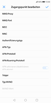 Huawei Mate 10 Lite - Internet - Manuelle Konfiguration - 12 / 26