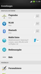 HTC One Mini - Ausland - Im Ausland surfen – Datenroaming - Schritt 6
