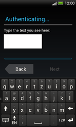 HTC One SV - Applications - Setting up the application store - Step 13