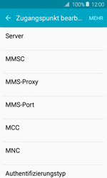 Samsung Galaxy J1 (2016) - MMS - Manuelle Konfiguration - 0 / 0