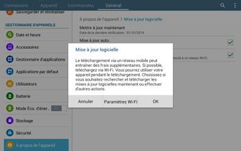 Samsung T535 Galaxy Tab 4 10.1 - Logiciels - Installation de mises à jour - Étape 9