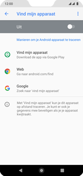 Xiaomi Mi A2 Lite - Toestel - stel Zoek mijn mobiel in - Stap 6