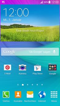 Samsung Galaxy Note 4 - Internet - Automatische Konfiguration - 1 / 1