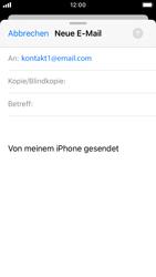 Apple iPhone SE - iOS 13 - E-Mail - E-Mail versenden - Schritt 6