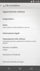 Sony Xperia Z1 - Software - Installazione degli aggiornamenti software - Fase 6
