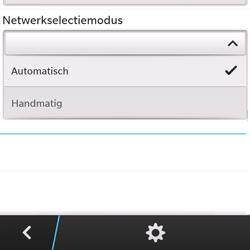 BlackBerry Q5 - netwerk en bereik - gebruik in binnen- en buitenland - stap 7
