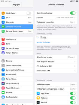 Apple iPad Pro (9.7) - iPadOS 13 - Internet - activer ou désactiver - Étape 4