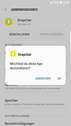 Samsung Galaxy S6 Edge - Android Nougat - Apps - Eine App deinstallieren - Schritt 7