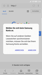 Samsung Galaxy S7 Edge - Android N - Internet und Datenroaming - Verwenden des Internets - Schritt 9
