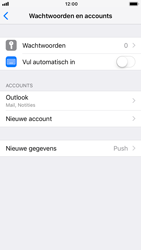 Apple iPhone 8 - iOS 12 - E-mail - Handmatig instellen (outlook) - Stap 10