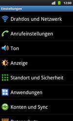 Samsung I9001 Galaxy S Plus - MMS - Manuelle Konfiguration - Schritt 4