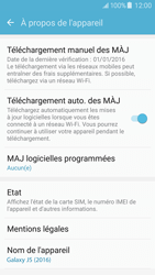 Samsung Galaxy J5 (2016) (J510) - Appareil - Mises à jour - Étape 7