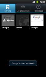 Samsung I9001 Galaxy S Plus - Internet - navigation sur Internet - Étape 10
