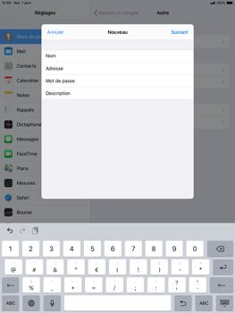 Apple ipad-10-2-7th-gen - E-mail - configuration manuelle - Étape 9