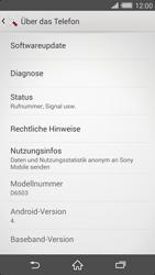 Sony Xperia Z2 - Software - Installieren von Software-Updates - Schritt 6