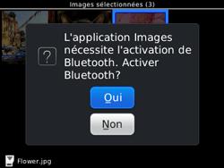 BlackBerry 9320 - Photos, vidéos, musique - Envoyer une photo via Bluetooth - Étape 12