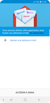 Samsung Galaxy S9 - E-mail - 032a. Email wizard - Gmail - Étape 6