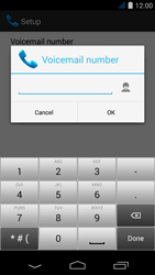 Acer Liquid Jade S - Voicemail - Manual configuration - Step 9