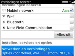 BlackBerry 9360 Curve - netwerk en bereik - gebruik in binnen- en buitenland - stap 4