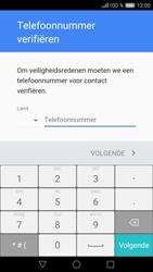 Huawei P9 Lite - Applicaties - Account aanmaken - Stap 6