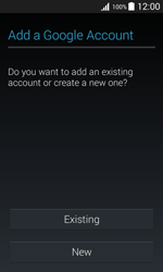 Samsung G388F Galaxy Xcover 3 - Applications - Create an account - Step 4