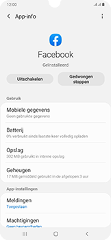 Samsung Galaxy A50 - apps - apps afsluiten - stap 6