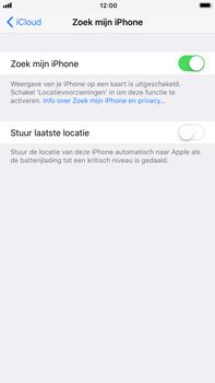 Apple iPhone 7 Plus iOS 11 - Beveiliging en privacy - zoek mijn iPhone activeren - Stap 7