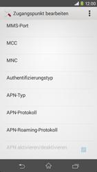 Sony Xperia M2 - Internet - Manuelle Konfiguration - Schritt 12
