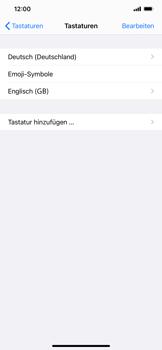 Apple iPhone 11 Pro Max - iOS 14 - Startanleitung - So fügen Sie eine Tastatursprache hinzu - Schritt 8