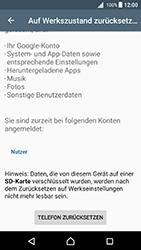 Sony Xperia X - Fehlerbehebung - Handy zurücksetzen - 1 / 1