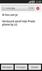 LG P940 PRADA phone by LG - e-mail - hoe te versturen - stap 13