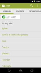 Sony Xperia Z1 - Apps - Herunterladen - 6 / 20