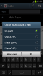Samsung Galaxy S3 - E-Mail - E-Mail versenden - 12 / 15
