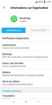 Alcatel 3L - Applications - Supprimer une application - Étape 7