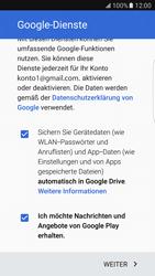 Samsung Galaxy S7 Edge - Apps - Einrichten des App Stores - Schritt 16