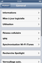 Apple iPhone 4 - MMS - Configuration manuelle - Étape 5