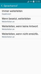 Samsung Galaxy A5 - Anrufe - Rufumleitungen setzen und löschen - 9 / 12