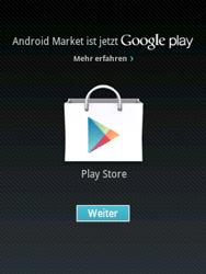 Samsung Galaxy Pocket - Apps - Einrichten des App Stores - Schritt 16