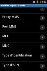 Samsung S6500D Galaxy Mini 2 - MMS - configuration manuelle - Étape 14
