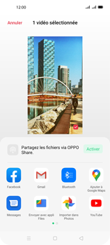 Oppo A72 - Photos, vidéos, musique - Créer une vidéo - Étape 17