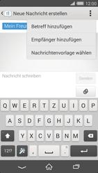 Sony Xperia Z2 - MMS - Erstellen und senden - Schritt 13