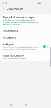 Samsung Galaxy S10 - Anrufe - Rufumleitungen setzen und löschen - 9 / 15