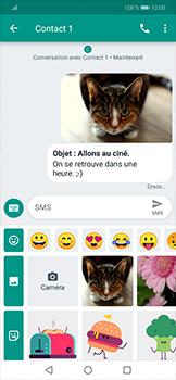 Huawei Mate 20 lite - Contact, Appels, SMS/MMS - Envoyer un MMS - Étape 17