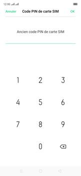Oppo Reno 2Z - Sécuriser votre mobile - Personnaliser le code PIN de votre carte SIM - Étape 10
