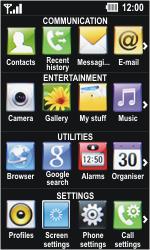 LG GD510 Pop - E-mail - Manual configuration - Step 3